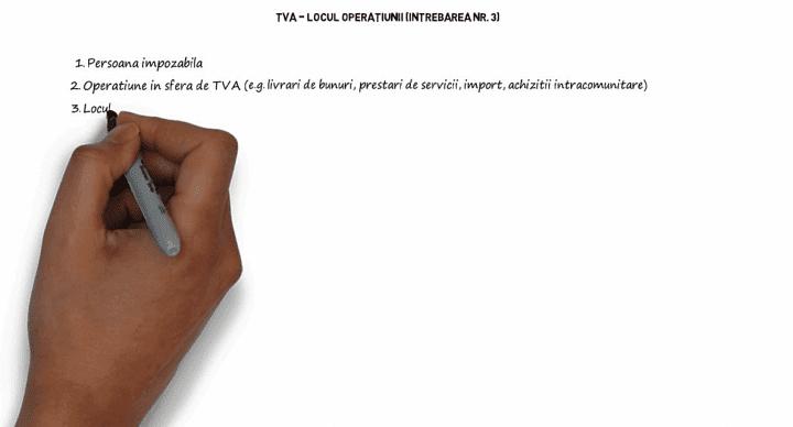 TVA – Locul operatiunii