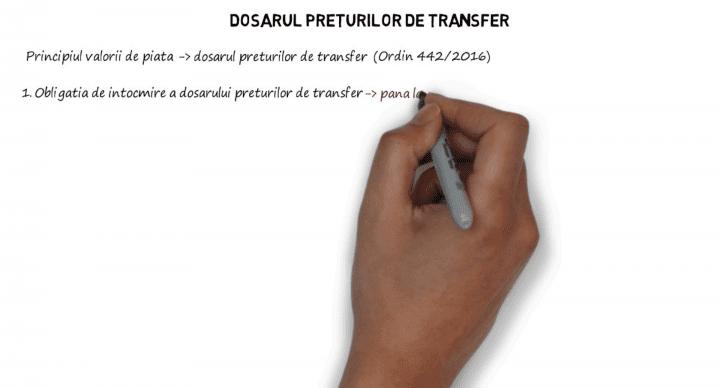 Dosarul preturilor de transfer – conditii si termene de prezentare