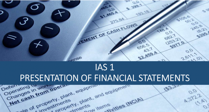 IAS 1 Presentation of Financial Statements - LS