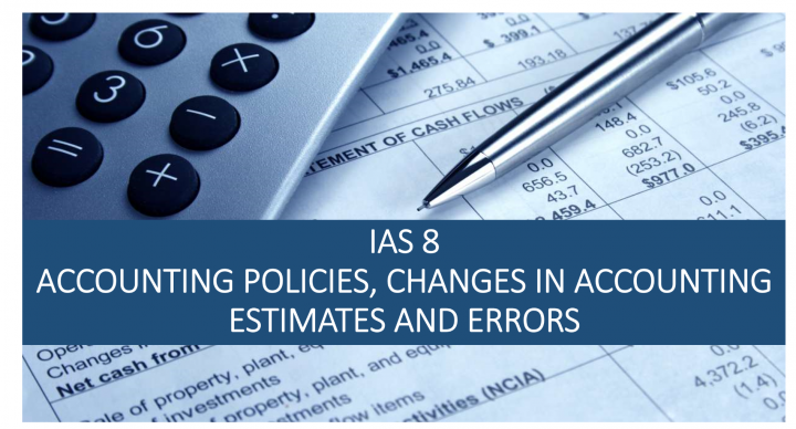 IAS 8 Accounting policies, changes in accounting estimates and errors - LS
